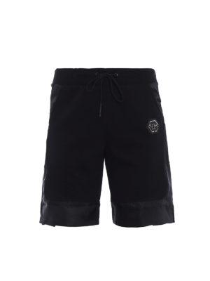 PHILIPP PLEIN: pantaloni sport - Pantaloncini jogging Too much