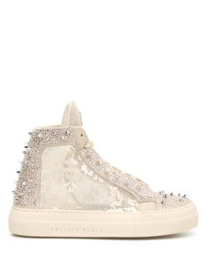 Philipp Plein: trainers - Angry studded sneakers