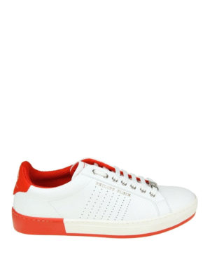 Philipp Plein: trainers - Another Night white sneakers