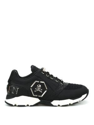 Philipp Plein: trainers - Hanzo leather sneakers