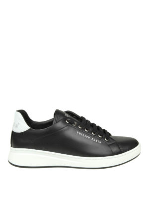 PHILIPP PLEIN: sneakers - Sneaker Lo-top Original in pelle nera