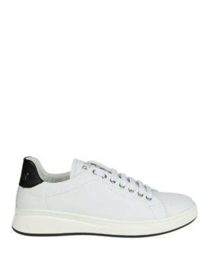 PHILIPP PLEIN: sneakers - Sneaker Lo-top Original in pelle bianca