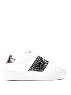 Philipp Plein: trainers - Loving embellished sneakers
