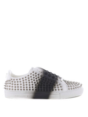 Philipp Plein: trainers - Misty Eye studded sneakers
