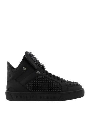 PHILIPP PLEIN: sneakers - Sneaker alte Mits con borchie