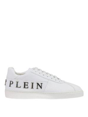 Philipp Plein: trainers - Ocean leather low-top sneakers
