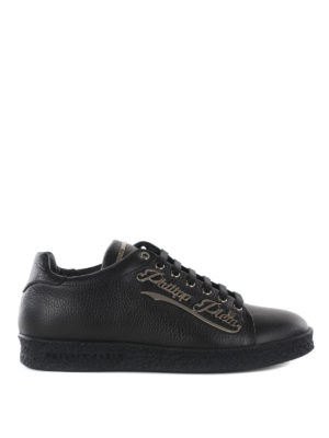 Philipp Plein: trainers - One Hundread metal logo sneakers