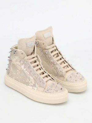 Philipp Plein: trainers online - Angry studded sneakers