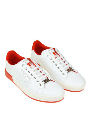 Philipp Plein: trainers online - Another Night white sneakers