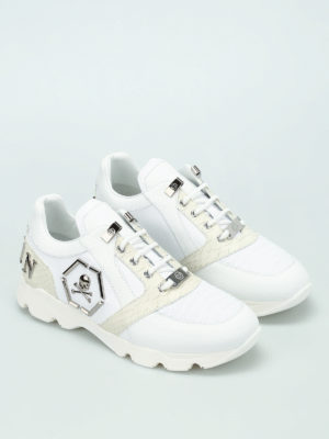 Philipp Plein: trainers online - Hanzo leather sneakers