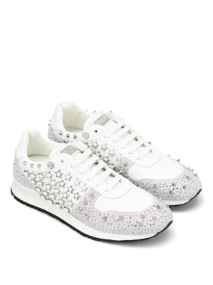 Philipp Plein: trainers online - Legend leather and suede sneakers