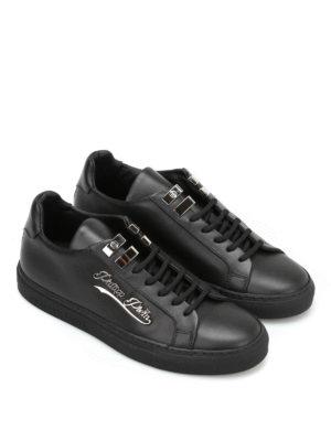 Philipp Plein: trainers online - Ram leather low top sneakers