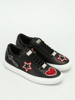 Philipp Plein: trainers online - Wright patches and studs sneakers