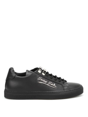 Philipp Plein: trainers - Ram leather low top sneakers