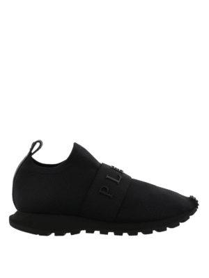 PHILIPP PLEIN: sneakers - Sneaker slip-on Simple One in neoprene