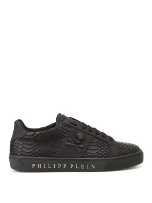 Philipp Plein: trainers - Talk Slow faux leather sneakers