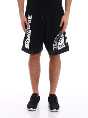 Philipp Plein: Trousers Shorts online - DDT boxing shorts