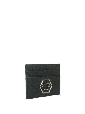 Philipp Plein: wallets & purses online - Umabel leather card holder