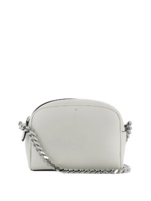 Philippe Model: cross body bags - Laval grey calfskin cross body bag