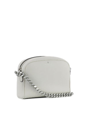 Philippe Model: cross body bags online - Laval grey calfskin cross body bag