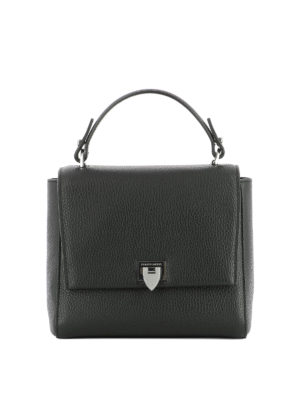 PHILIPPE MODEL: borse a tracolla - Borsa Petit Model in pelle nera