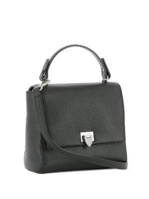 PHILIPPE MODEL: borse a tracolla online - Borsa Petit Model in pelle nera