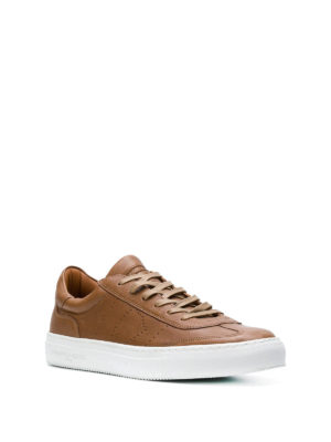 PHILIPPE MODEL: sneakers online - Sneaker Belleville in morbida pelle marrone
