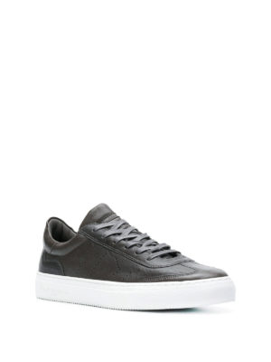 PHILIPPE MODEL: sneakers online - Sneaker Belleville in morbida pelle antracite