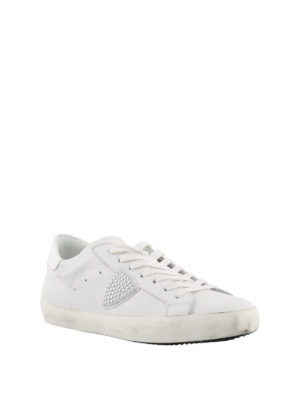 PHILIPPE MODEL: sneakers online - Sneaker in pelle Classic Low con logo borchie