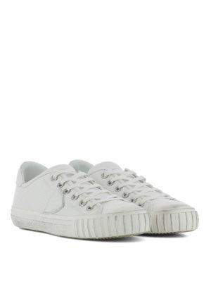 PHILIPPE MODEL: sneakers online - Sneaker Gare in pelle bianca
