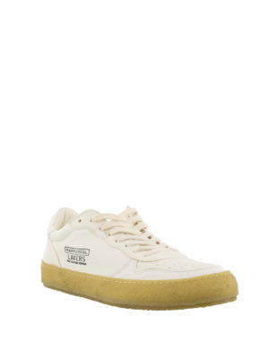 PHILIPPE MODEL: sneakers online - Sneaker Lakers Vintage in pelle bianca