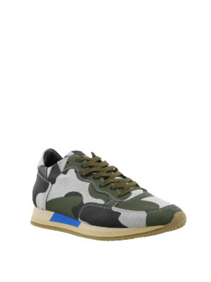 PHILIPPE MODEL: sneakers online - Sneaker Paradis camouflage