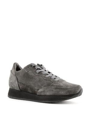 PHILIPPE MODEL: sneakers online - Sneaker Paradis in suede grigio scuro