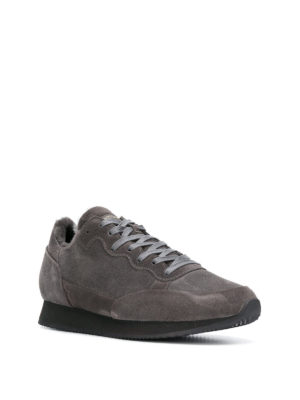 PHILIPPE MODEL: sneakers online - Sneaker Paradis in suede e eco pelliccia