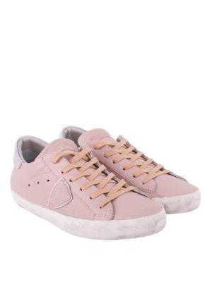 PHILIPPE MODEL: sneakers online - Sneaker Paris Basic dai toni nude