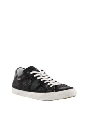 PHILIPPE MODEL: sneakers online - Sneaker Paris in denim nero