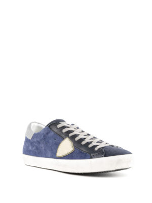 PHILIPPE MODEL: sneakers online - Sneaker basse Paris blu e nere