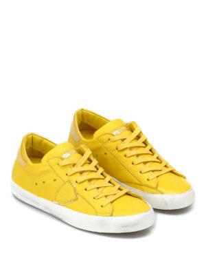 PHILIPPE MODEL: sneakers online - Sneaker Paris gialle