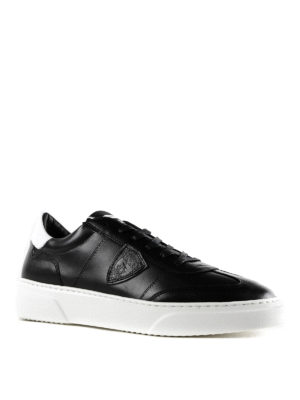 PHILIPPE MODEL: sneakers online - Sneaker Temple in pelle nera