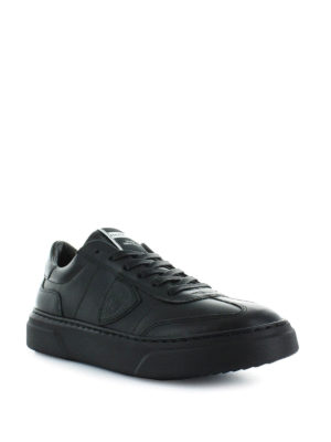 PHILIPPE MODEL: sneakers online - Sneaker Temple in pelle con maxi suola