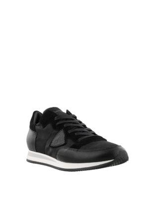 PHILIPPE MODEL: sneakers online - Sneaker Tropez camouflage nero multi tessuto