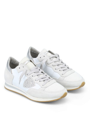 PHILIPPE MODEL: sneakers online - Sneaker Tropez con strass