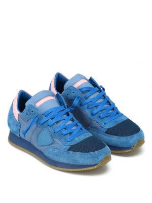 PHILIPPE MODEL: sneakers online - Sneaker Tropez celesti