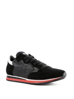 PHILIPPE MODEL: sneakers online - Sneaker Tropez Mondial nere in pelle
