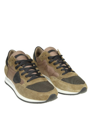 PHILIPPE MODEL: sneakers online - Sneaker Tropez in nylon e camoscio