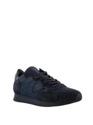PHILIPPE MODEL: sneakers online - Sneaker Tropez blu tinta unita