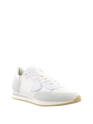 PHILIPPE MODEL: sneakers online - Sneaker Tropez bianche in suede