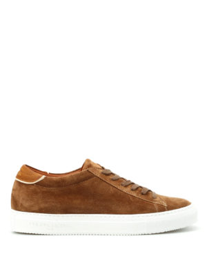 Philippe Model: trainers - Avenir low top suede sneakers