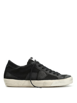 Philippe Model: trainers - Bercy canvas sneakers