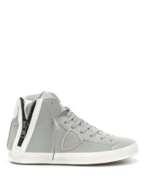 Philippe Model: trainers - Bike high top sneakers